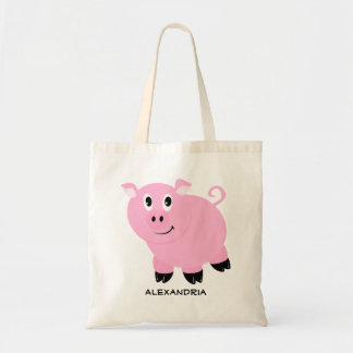 Cute Pink Pig Personalized Adorable Piggy