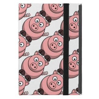 Cute Pink Piglet Cartoon Pattern Case For iPad Mini