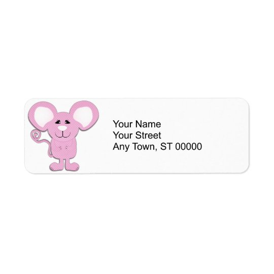 cute pink polka dot mousey mouse
