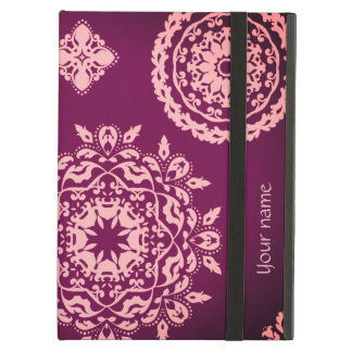 Cute pink purple iPad air cover