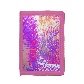 Cute Pink Sealife design Trifold Wallet