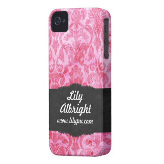 Cute pink vintage Blackberry Bold Case