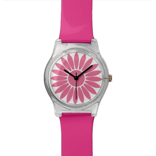 Cute Pink Watch Design