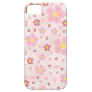 Cute Pinky Flowers Case For The iPhone 5