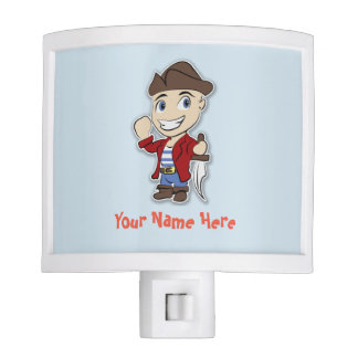 Cute Pirate Kid Night Light