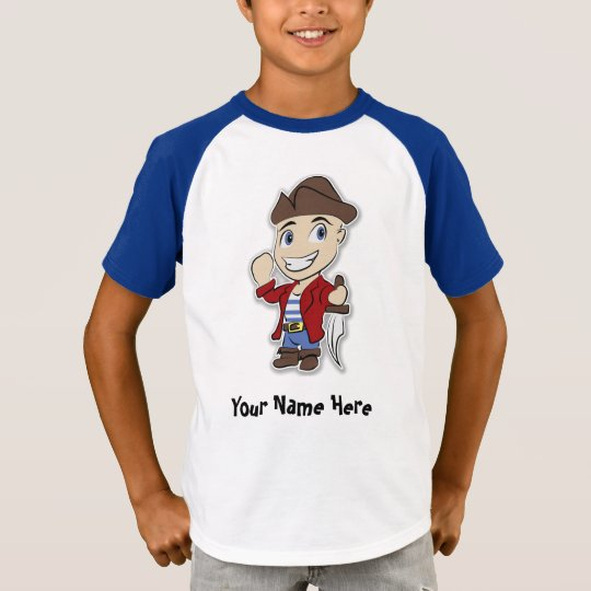 Cute Pirate Kid T Shirt