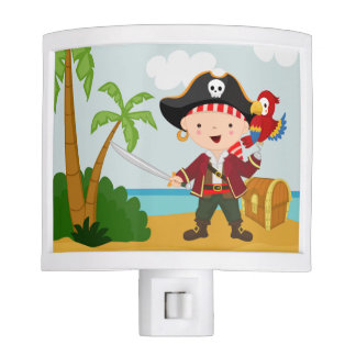 Cute Pirate Nite Light