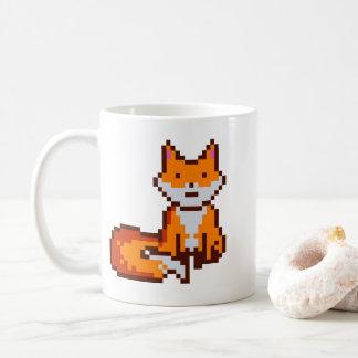 Cute Pixel Art Fox Coffee Mug