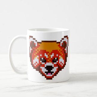 Cute Pixel Art Red Panda Coffee Mug