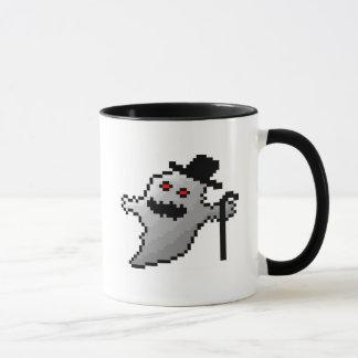 Cute pixel ghost mug