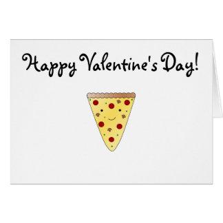 Cute pizza card
