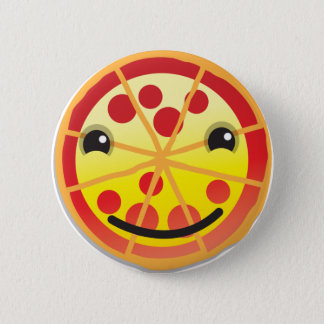 cute pizza pepperoni! 2 inch round button