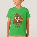 Cute Pizza Poop Emoji T-Shirt
