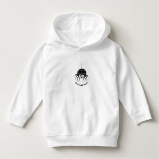 Cute Plaid Black Spiders and Curly Web Hoodie