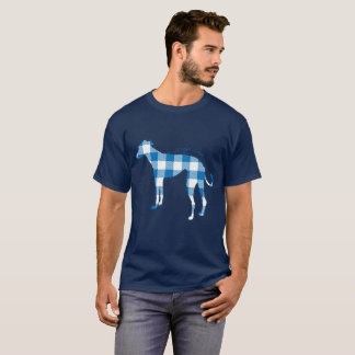 Cute Plaid Greyhound T-Shirt