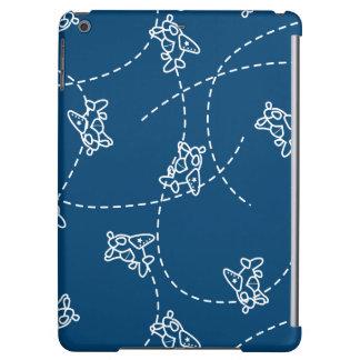 Cute planes iPad air cover