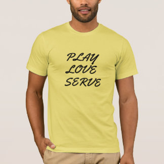 cute play love marry serve funny t-shirt design