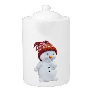 CUTE PLAYFUL SNOWMAN