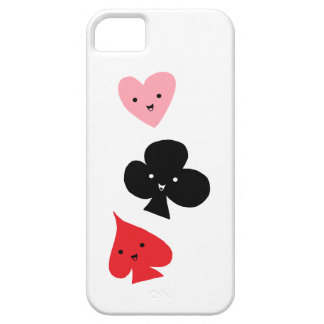 Cute Playing Card Suits iPhone 5 Case