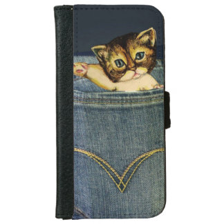 Cute Pocket Kitty Cell Phone Case