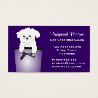 Cute Pocket Puppy Dog Business Card