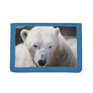 Cute Polar Bear Animal Peace Destiny Love Tri-fold Wallets