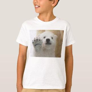 Cute Polar Bear Cub Waving T-Shirt