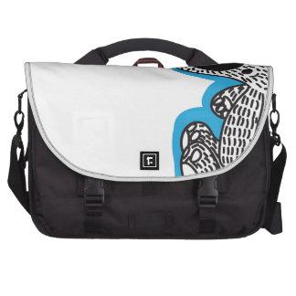 Cute polar bear laptop messenger bag
