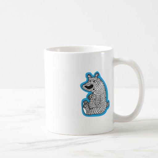 Cute polar bear coffee mug