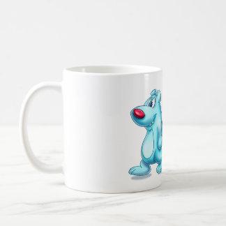 cute polar bear mug cartoon