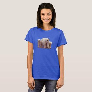 Cute Polar Bears Cubs Arctic Wildlife T-Shirt
