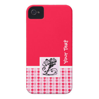 Cute Polka Dot; Girly Skater iPhone 4 Case-Mate Cases