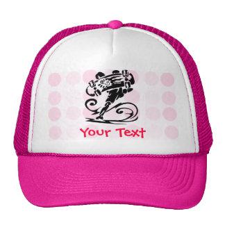 Cute Polka Dot; Girly Skater Trucker Hat
