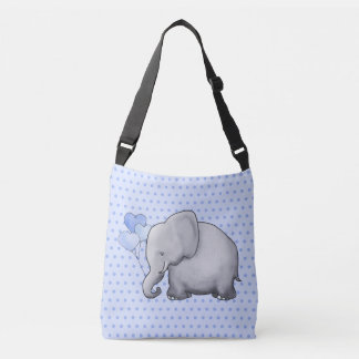 Cute Polka Dots Elephant Baby New Parent Diaper Crossbody Bag