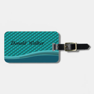 Cute Polka Dots Pattern-Personalized Luggage Tag