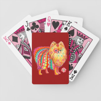 Cute Pomeranian Playing Cards