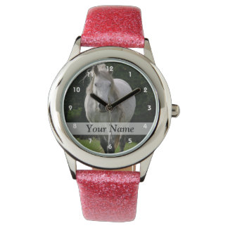 Cute pony photograph watch