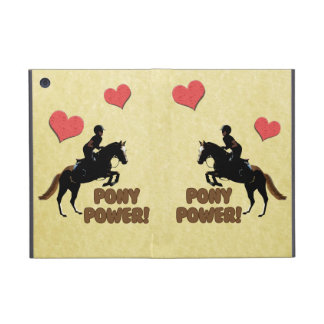 Cute Pony Power Equestrian Cases For iPad Mini