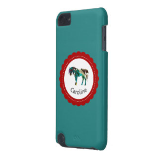 Cute Pony with Blue and Red iPod Touch (5th Generation) Cover