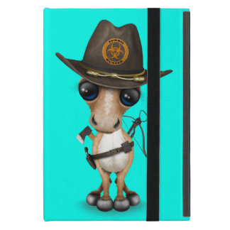Cute Pony Zombie Hunter Cover For iPad Mini