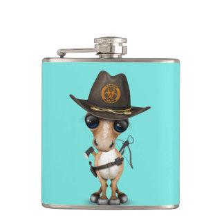 Cute Pony Zombie Hunter Hip Flask