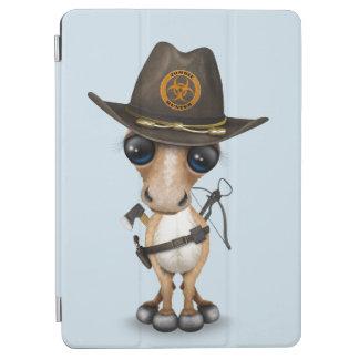Cute Pony Zombie Hunter iPad Air Cover