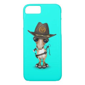 Cute Pony Zombie Hunter iPhone 8/7 Case