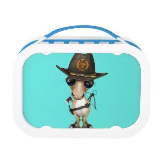 Cute Pony Zombie Hunter Lunch Box