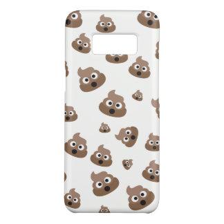 Cute Poop Emoji Pattern Case-Mate Samsung Galaxy S8 Case