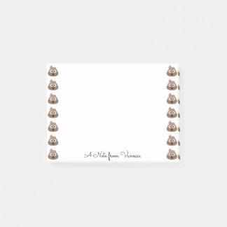 Cute Poop Emojis Post-it Notes