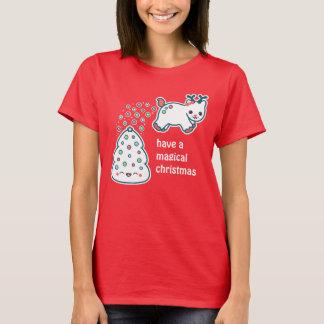 Cute Pooping Reindeer T-Shirt