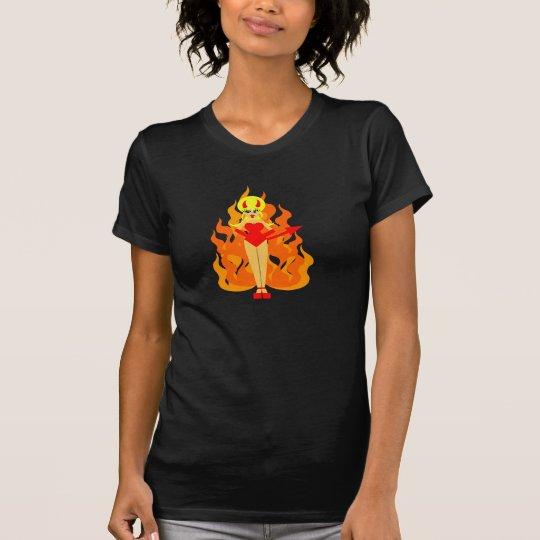 Cute Pop Art Devil T-Shirt