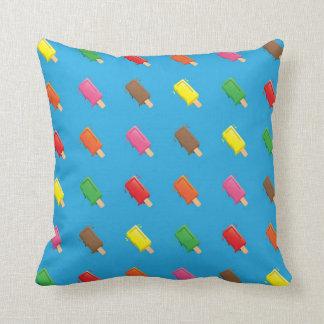 Cute Popsicle Cartoon Pattern Throw Pillow