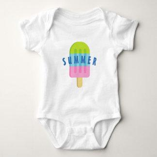 Cute popsicle custom baby bodysuit for newborn